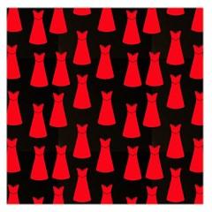 Dresses Seamless Pattern Large Satin Scarf (square) by Nexatart