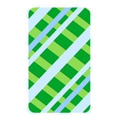 Fabric Cotton Geometric Diagonal Memory Card Reader by Nexatart