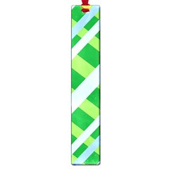 Fabric Cotton Geometric Diagonal Large Book Marks