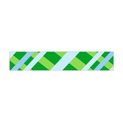 Fabric Cotton Geometric Diagonal Flano Scarf (Mini)