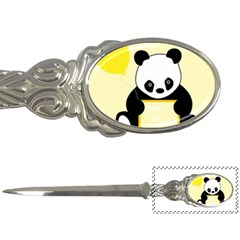 First Birthday Panda Card Letter Openers by Nexatart
