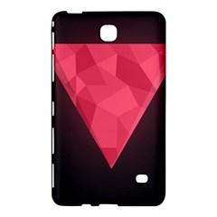 Geometric Triangle Pink Samsung Galaxy Tab 4 (8 ) Hardshell Case  by Nexatart