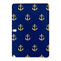 Gold Anchors Background Samsung Galaxy Tab Pro 12.2 Hardshell Case by Nexatart
