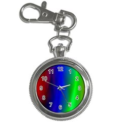 Graphics Gradient Colors Texture Key Chain Watches