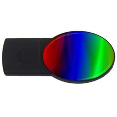 Graphics Gradient Colors Texture Usb Flash Drive Oval (4 Gb)