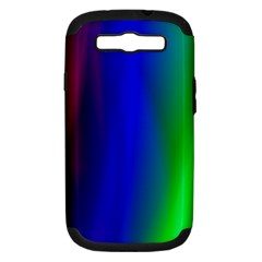 Graphics Gradient Colors Texture Samsung Galaxy S Iii Hardshell Case (pc+silicone)