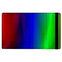 Graphics Gradient Colors Texture Apple Ipad 3/4 Flip Case