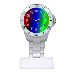 Graphics Gradient Colors Texture Plastic Nurses Watch