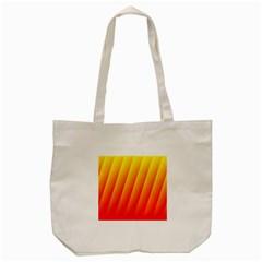 Graphics Gradient Orange Red Tote Bag (cream) by Nexatart