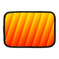 Graphics Gradient Orange Red Netbook Case (medium)  by Nexatart