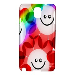 Happy Flowers Samsung Galaxy Note 3 N9005 Hardshell Case