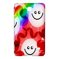 Happy Flowers Samsung Galaxy Tab 4 (8 ) Hardshell Case  by Nexatart