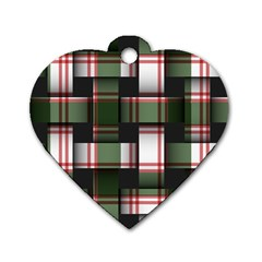 Hintergrund Tapete Dog Tag Heart (one Side)