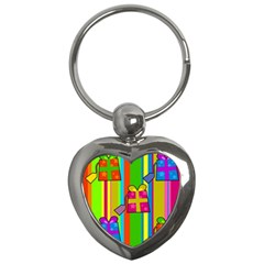 Holiday Gifts Key Chains (heart)  by Nexatart