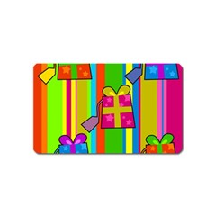 Holiday Gifts Magnet (name Card) by Nexatart