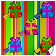 Holiday Gifts Canvas 16  X 16   by Nexatart