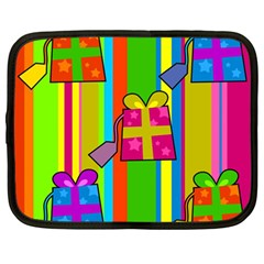 Holiday Gifts Netbook Case (large) by Nexatart
