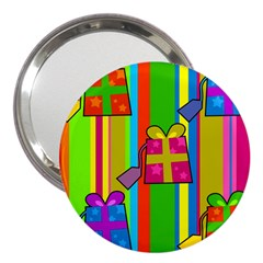 Holiday Gifts 3  Handbag Mirrors by Nexatart