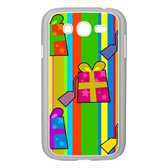 Holiday Gifts Samsung Galaxy Grand Duos I9082 Case (white) by Nexatart