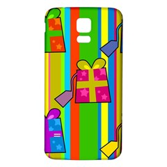 Holiday Gifts Samsung Galaxy S5 Back Case (white) by Nexatart