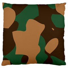 Military Camouflage Standard Flano Cushion Case (one Side) by Nexatart