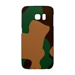 Military Camouflage Galaxy S6 Edge by Nexatart