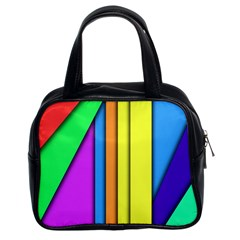 More Color Abstract Pattern Classic Handbags (2 Sides)