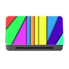 More Color Abstract Pattern Memory Card Reader With Cf