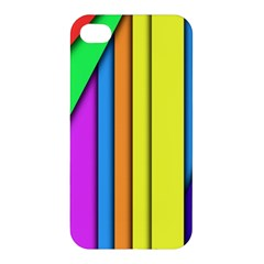 More Color Abstract Pattern Apple Iphone 4/4s Hardshell Case