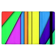 More Color Abstract Pattern Apple Ipad 3/4 Flip Case