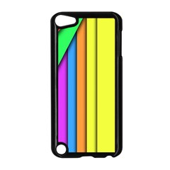 More Color Abstract Pattern Apple Ipod Touch 5 Case (black)