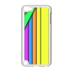 More Color Abstract Pattern Apple Ipod Touch 5 Case (white) by Nexatart