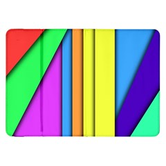 More Color Abstract Pattern Samsung Galaxy Tab 8 9  P7300 Flip Case
