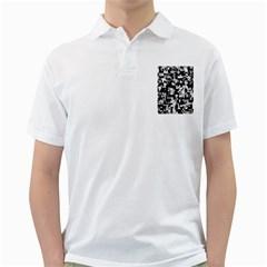 Noise Texture Graphics Generated Golf Shirts by Nexatart