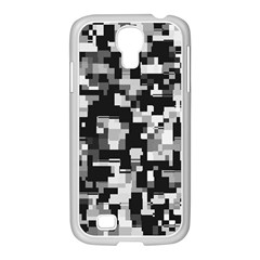 Noise Texture Graphics Generated Samsung Galaxy S4 I9500/ I9505 Case (white)
