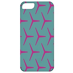 Pattern Background Structure Pink Apple Iphone 5 Classic Hardshell Case