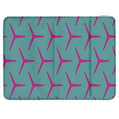 Pattern Background Structure Pink Samsung Galaxy Tab 7  P1000 Flip Case