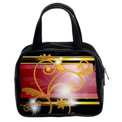 Pattern Vectors Illustration Classic Handbags (2 Sides)