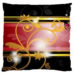 Pattern Vectors Illustration Large Flano Cushion Case (two Sides)