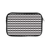 Pattern Background Texture Black Apple MacBook Pro 13  Zipper Case Front