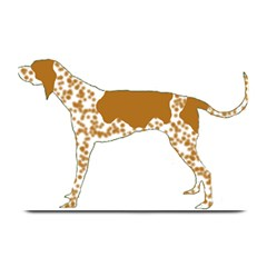 American English Coonhound Silo Color Plate Mats by TailWags