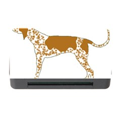 American English Coonhound Silo Color Memory Card Reader with CF by TailWags