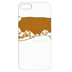 American English Coonhound Silo Color Apple iPhone 5 Hardshell Case with Stand by TailWags