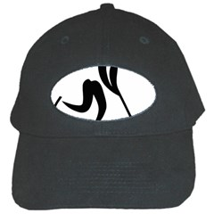 Ice Hockey Pictogram Black Cap by abbeyz71