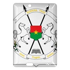 Coat Of Arms Of Burkina Faso Amazon Kindle Fire Hd (2013) Hardshell Case by abbeyz71