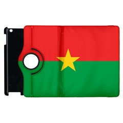 Flag Of Burkina Faso Apple Ipad 2 Flip 360 Case