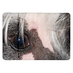 Chinese Crested Eyes Samsung Galaxy Tab 8.9  P7300 Flip Case by TailWags