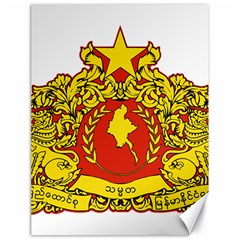 State Seal Of Myanmar Canvas 18  X 24   by abbeyz71