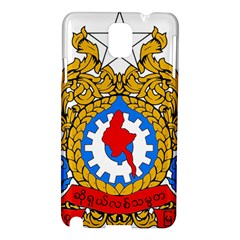State Seal Of Burma, 1974 2008 Samsung Galaxy Note 3 N9005 Hardshell Case by abbeyz71