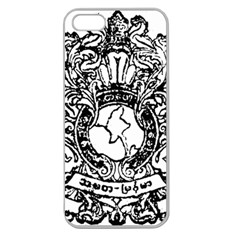 State Seal Of Burma, 1948 1974 Apple Seamless Iphone 5 Case (clear)